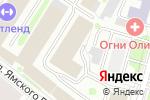 Схема проезда до компании Роспроект в Москве