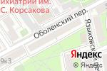 Схема проезда до компании Адвокатские кабинеты Савельевой А.С. и Левина Д.В. в Москве