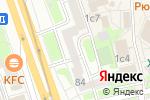 Схема проезда до компании Rosa-optom в Москве