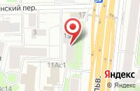 Схема проезда до компании Генборд в Москве