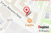 Схема проезда до компании Интеллис в Москве