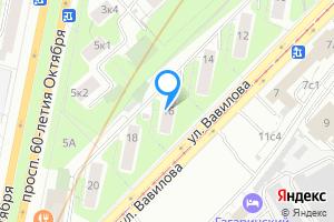 Снять двухкомнатную квартиру в Москве ул. Вавилова, 16