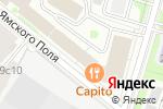 Схема проезда до компании ИМК - официальный представить сервиса для работы с фрилансерами Rootpay в Москве