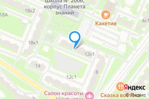 Двухкомнатная квартира в Москве ул.Грина, д.12, корп.1
