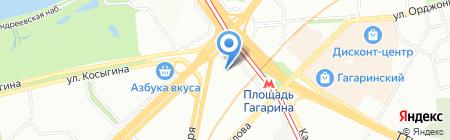 Devais на карте Москвы