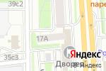 Схема проезда до компании Манхэттен в Москве