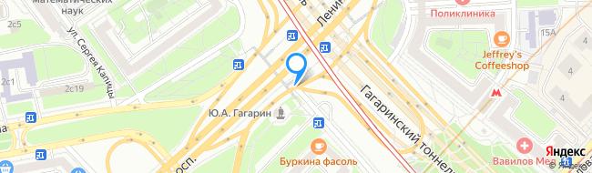 мцк Площадь Гагарина