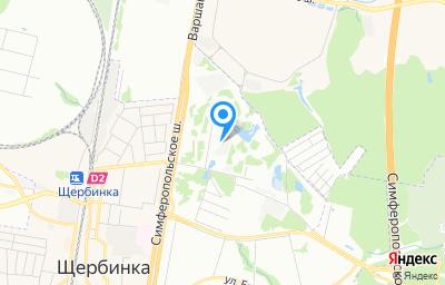 Местоположение на карте пункта техосмотра по адресу г Москва, д Щербинка, д 48А стр 8