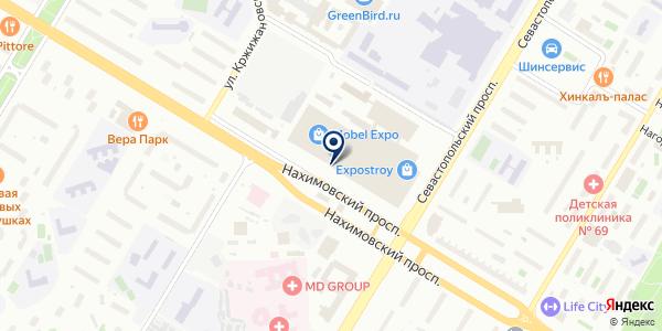 АВРОРАPLUS на карте Москве
