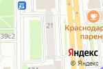Схема проезда до компании Служба безопасности в Москве