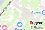 Схема проезда до компании TAGinterio в Москве