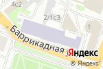 Схема проезда до компании БарРикада в Москве