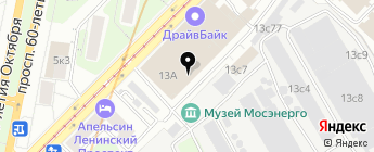 Автопрофи на карте Москвы