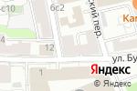 Схема проезда до компании ИНФОНОМ в Москве