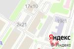 Схема проезда до компании Наука в Москве