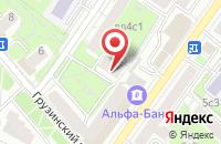 Схема проезда до компании Стройм в Москве