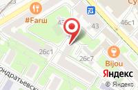 Схема проезда до компании Сталкер в Москве
