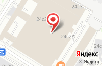 Схема проезда до компании Первая городская типография в Москве
