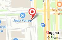 Схема проезда до компании Рольф Авто Центры Менеджмент в Москве