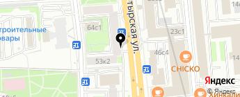 Старт на карте Москвы