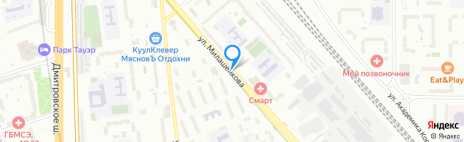 улица Милашенкова