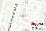 Схема проезда до компании IncomLight в Москве