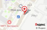 Схема проезда до компании Газета «Нойес Лебен» в Москве