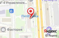 Схема проезда до компании Элемент-Медиа в Москве