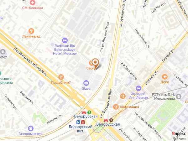 Остановка 3-я ул. Ямского Поля в Москве