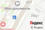 Схема проезда до компании Библиотечка в Москве