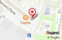 Схема проезда до компании Б.Ф.Медиа в Москве
