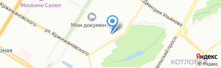 Современный бухучет на карте Москвы