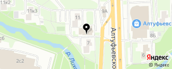 Каскад Авто на карте Москвы