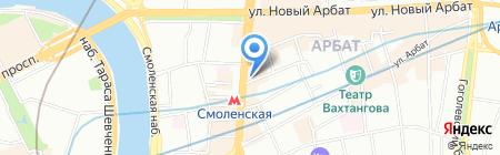 Инпредстрой на карте Москвы