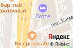 Схема проезда до компании Инпредстрой в Москве