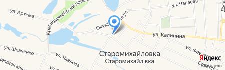 Музей на карте Старомихайловки