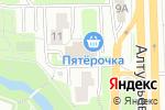 Схема проезда до компании Горячий хлеб хачапури в Москве