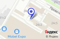 Схема проезда до компании ДИЗАЙН-СТУДИЯ ЭКОДИЗАЙН в Москве