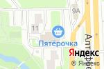 Схема проезда до компании Витл в Москве