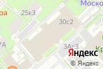 Схема проезда до компании AlanGoa в Москве