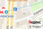 Схема проезда до компании FOTODOKI в Москве