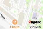 Схема проезда до компании Техно-Консалт в Москве