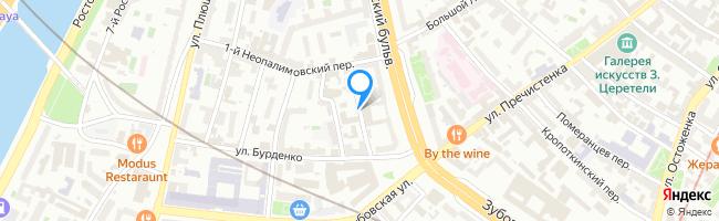 переулок Неопалимовский 3-й
