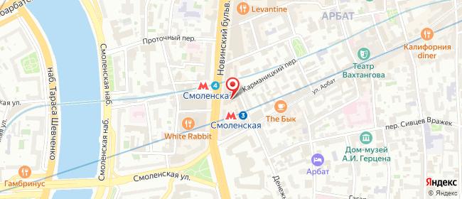 Карта расположения пункта доставки Москва Карманицкий в городе Москва
