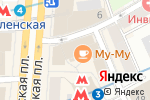 Схема проезда до компании Дешевыйремонт.рф в Москве