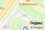 Схема проезда до компании ЖСК №2 работников КГБ при СМ СССР в Москве