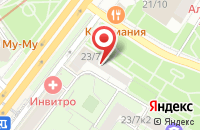 Схема проезда до компании Нип Инжиниринг в Москве