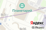 Схема проезда до компании Станция Марс в Москве