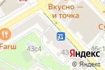 Схема проезда до компании Nelva в Москве