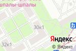 Схема проезда до компании Арт-Сфера в Москве
